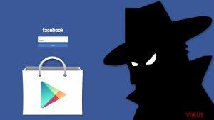Facebookis liikuv andmeid varastav pahavara leiti Google Play poest
