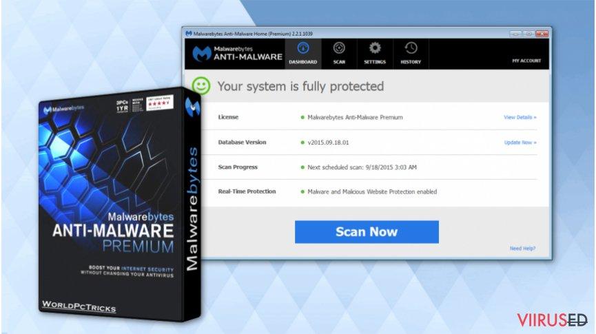 Get Malwarebytes Anti-malware software for free