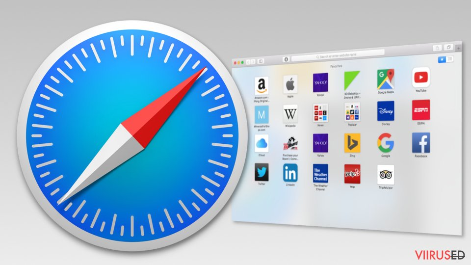 Image of Safari browser