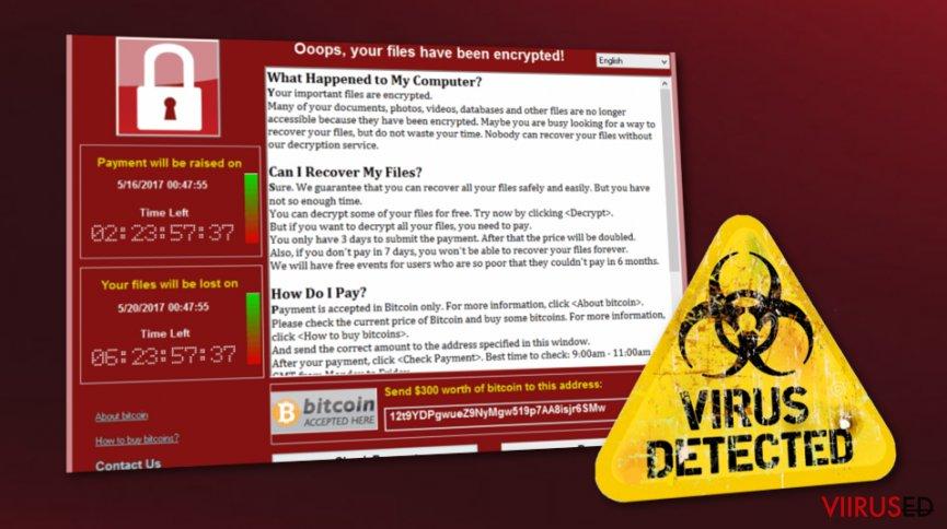 WannaCry on tagasi. Tuhanded kasutajad on ohus
