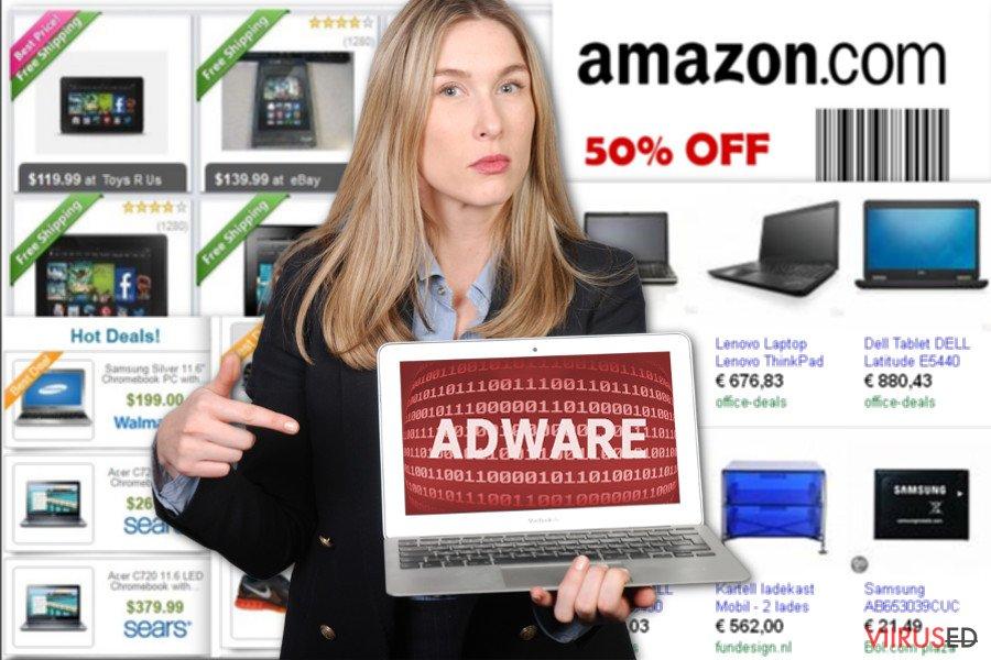 NewTab reklaamide pilt