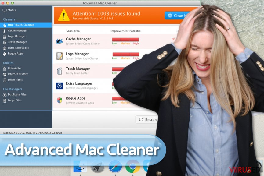 Advanced Mac Cleaner viirus