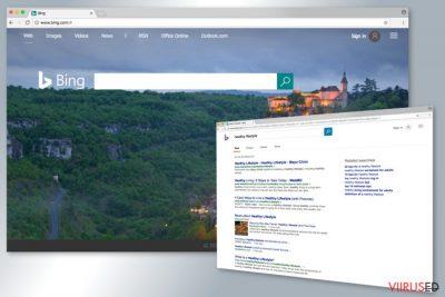 Bingi otsingumootori näide