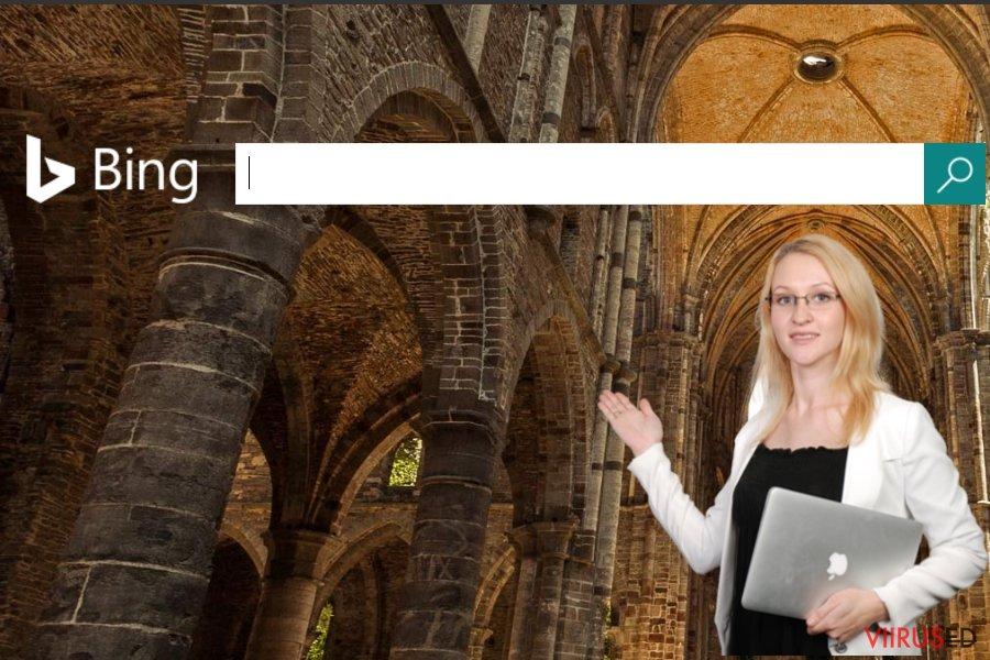 Bingi veebilehe ekraanitõmmis