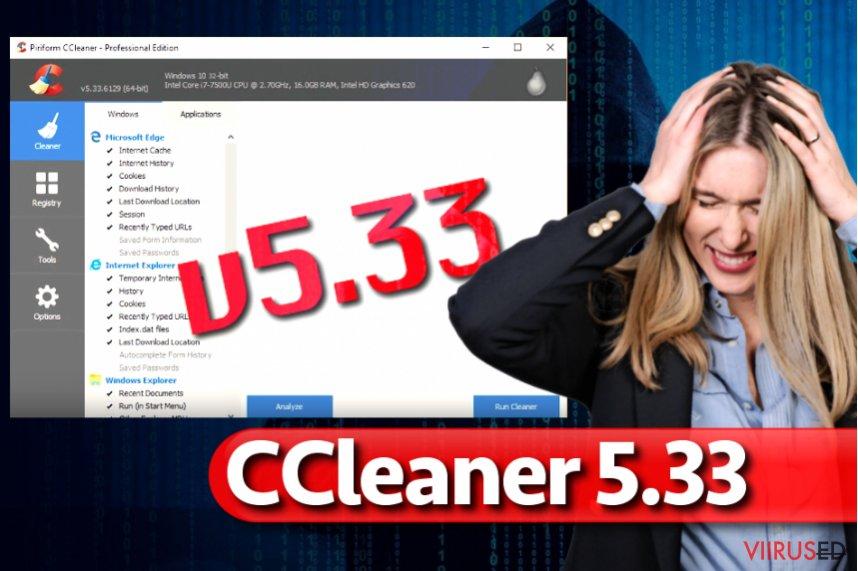 CCleaner pahavara