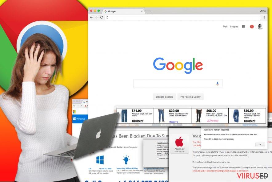 Chrome reklaamvara viirus