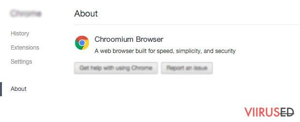 Chroomium veebilehitseja pettus