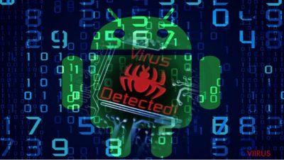 Pildil on näha Android malware-com.google.provision viirust