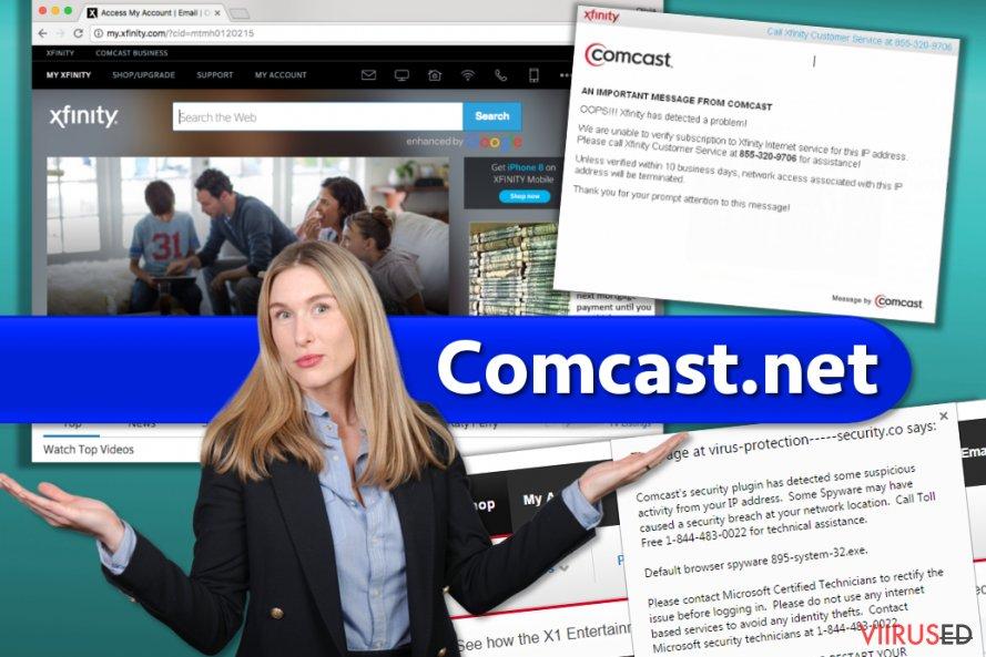Comcast.net veebileht ja pettused, millest sa peaksid teadma
