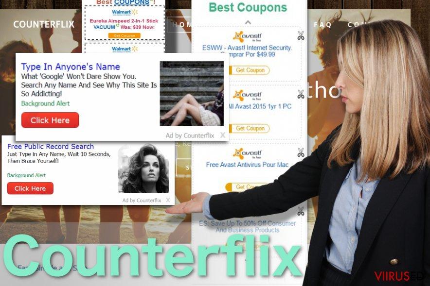 Counterflix reklaamide näide