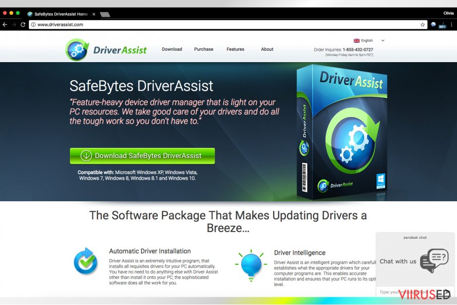 SafeBytes'i Driver Assist