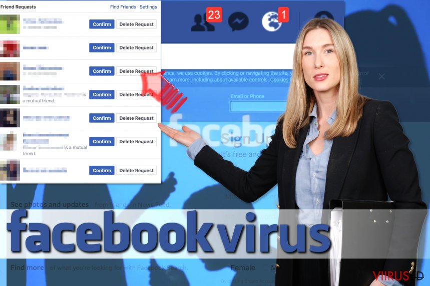 Facebook Friend Request viirus hetktõmmis