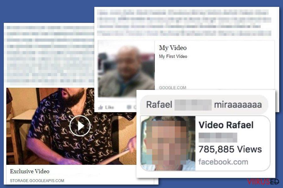 Facebooki videoviirus hetktõmmis
