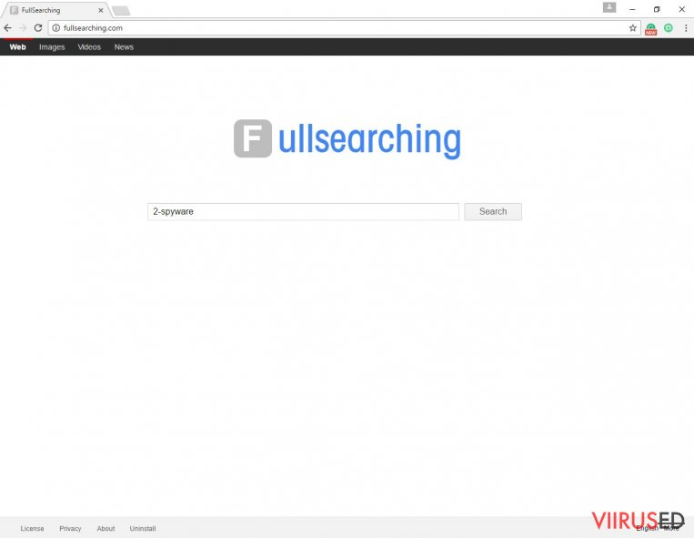 The picture of FullSearching.com search engine