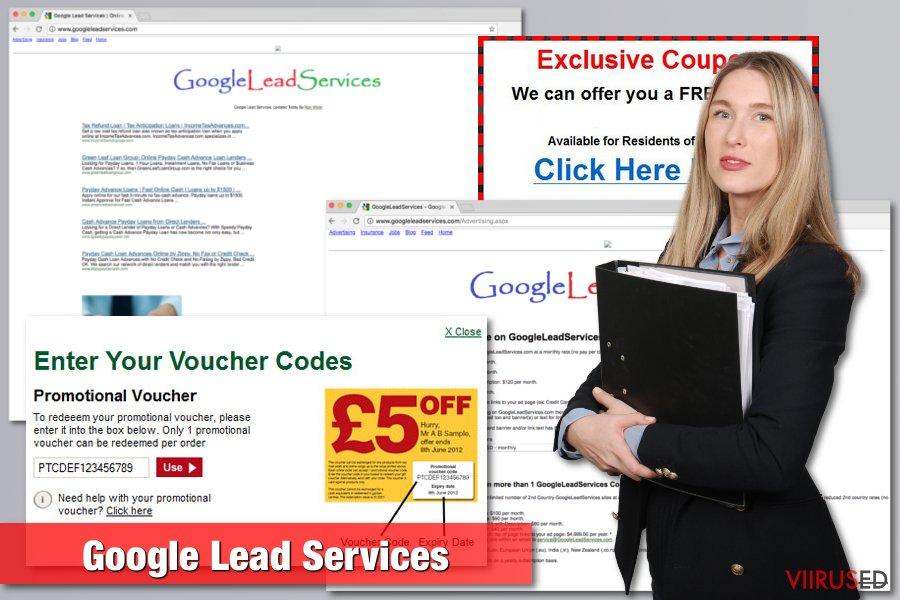 Google Lead Services viiruse pilt