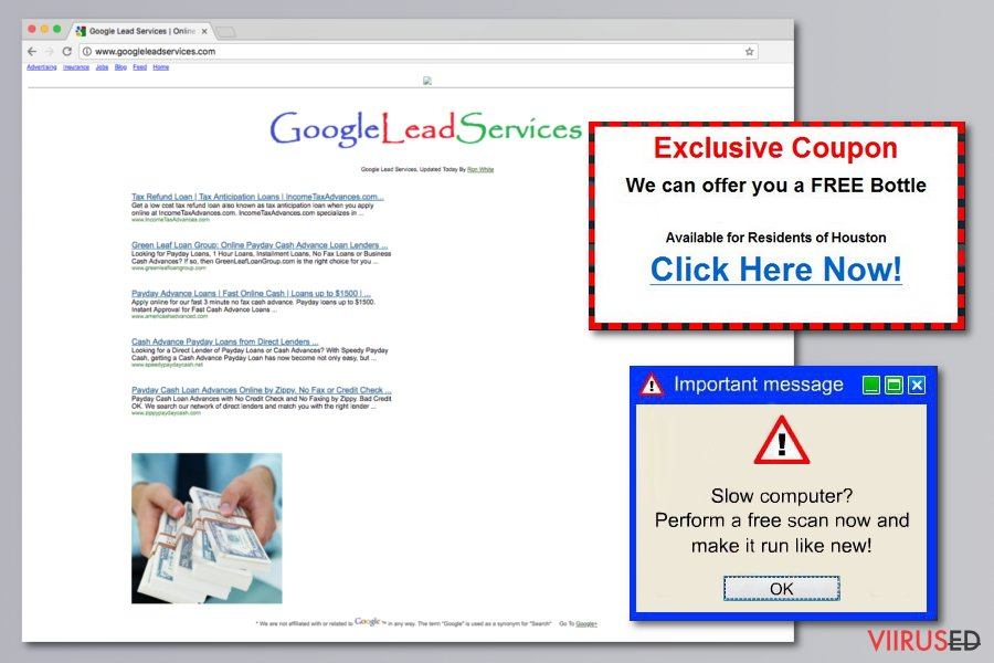 Google Lead Services pilt