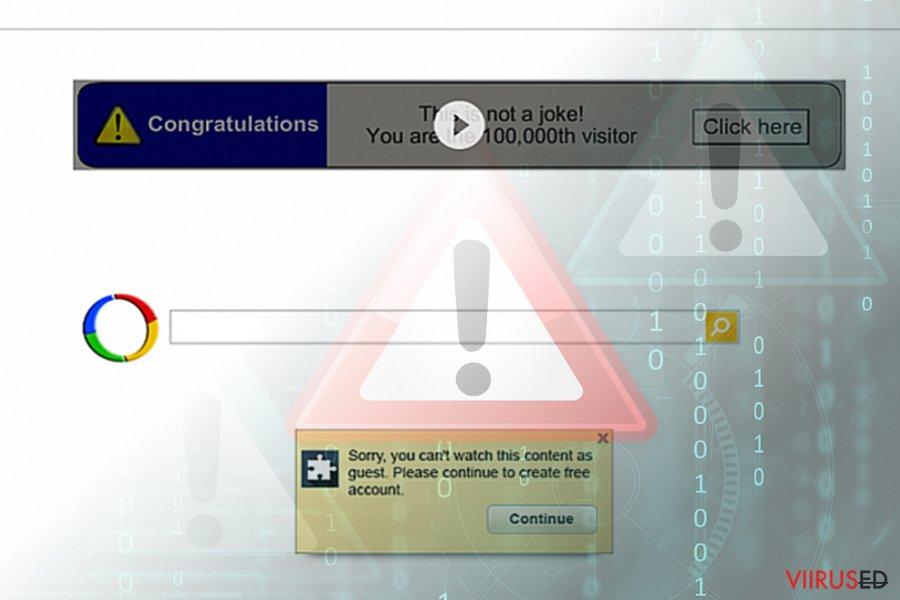 Google ümbersuunamisviirus (otsingutulemused)