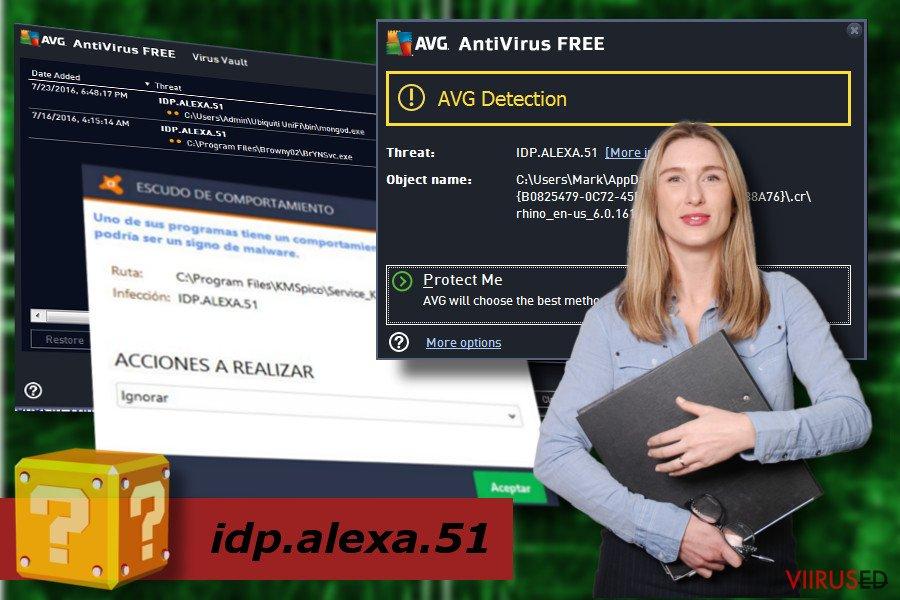 idp.alexa.51 tuvastamine