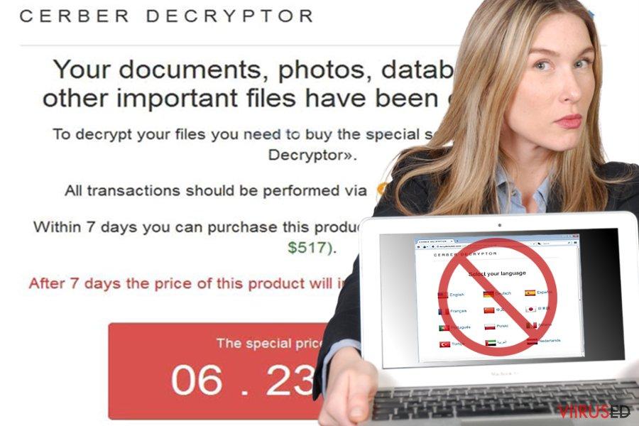 Cerber Decryptor
