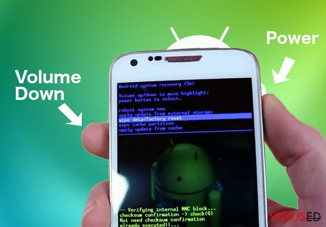 Android ransomware-viirus