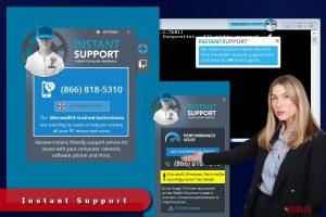 Instant Support reklaamid