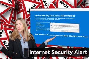 """Internet Security Alert"" viirus"