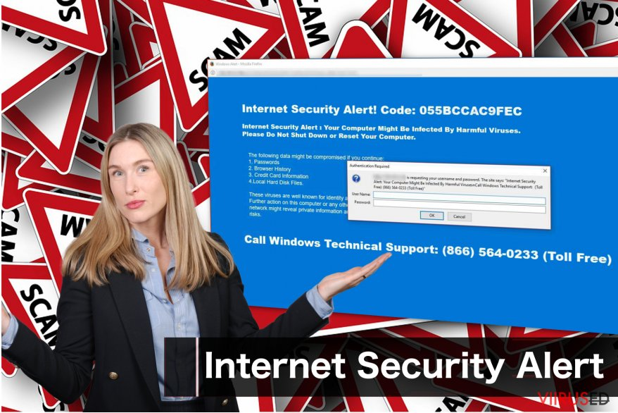 """Internet Security Alert"" viirus"