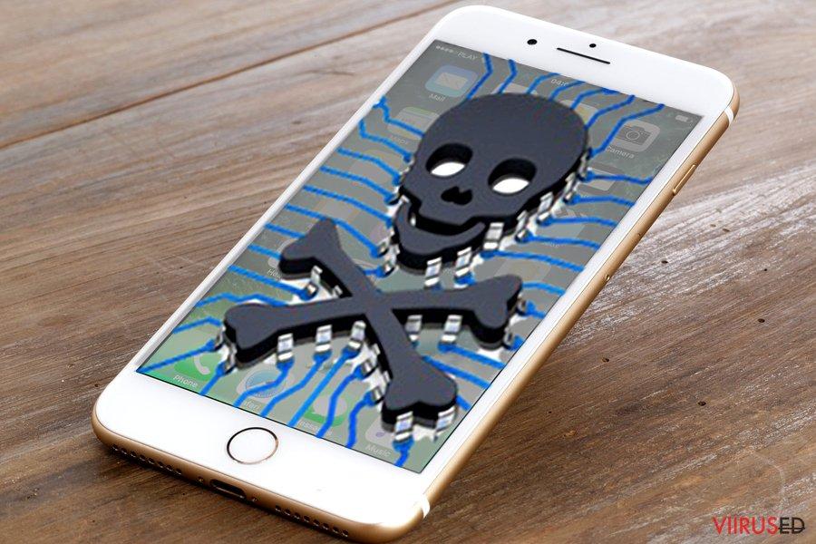 iPhone viiruse pilt