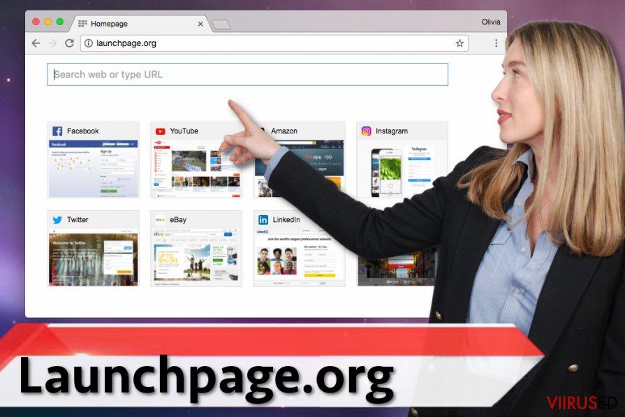 Launchpage.org viirus