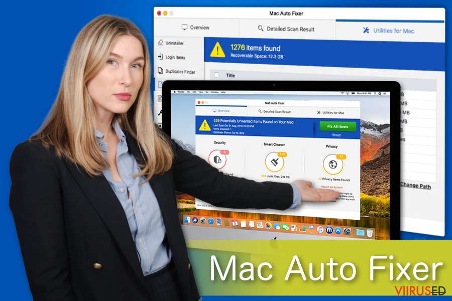 Mac Auto Fixer illustreering