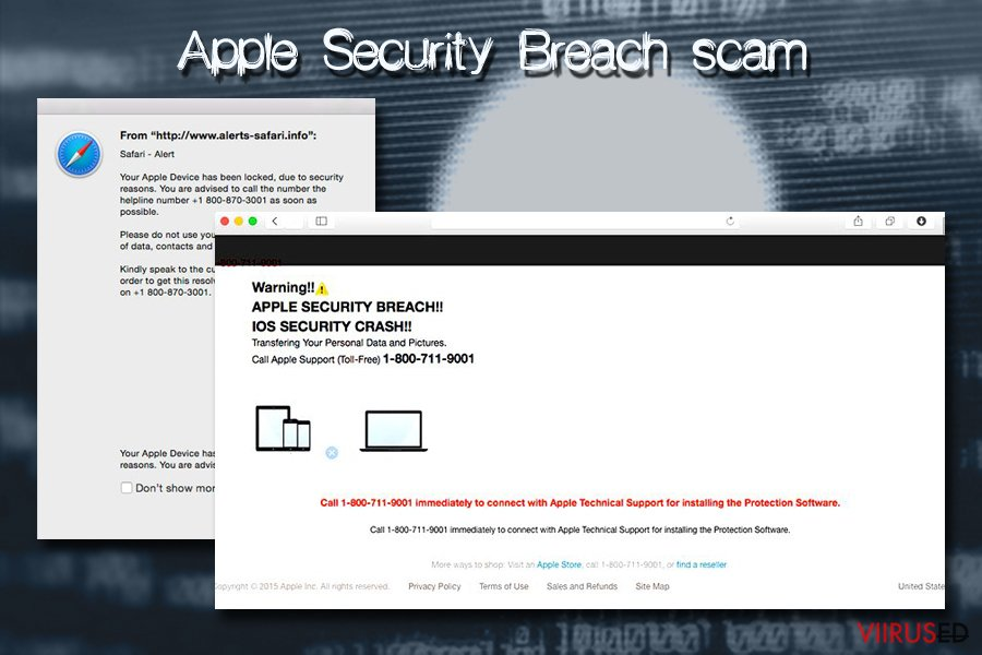 Mac viirus - Apple Security Breach