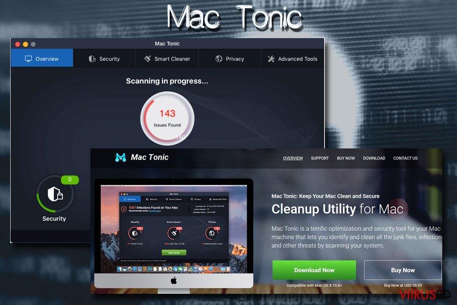 Mac viirus Mac tonic