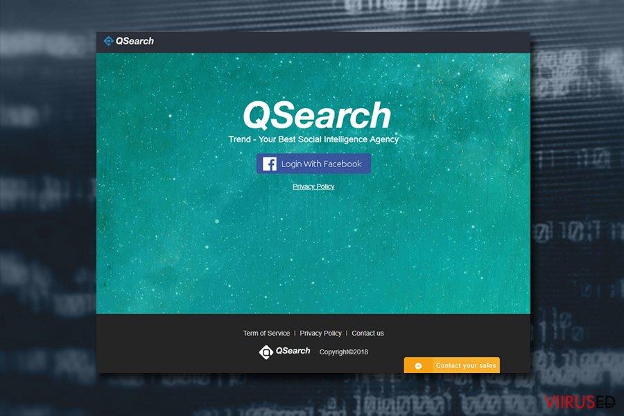 Mac viirus QSearch