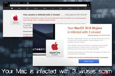 Mac viirus - Sinu Mac on nakatunud 3 viirusega