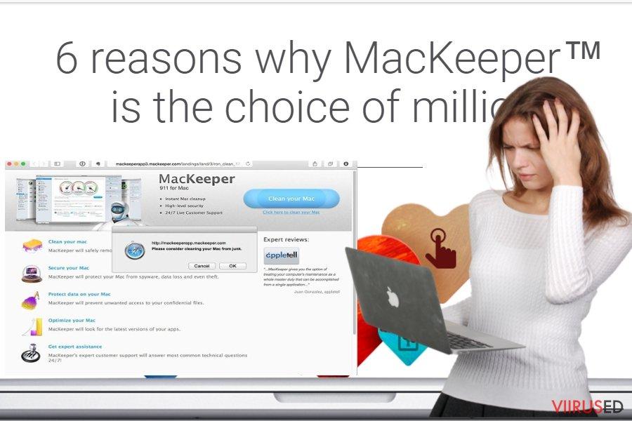 MacKeeper viirus