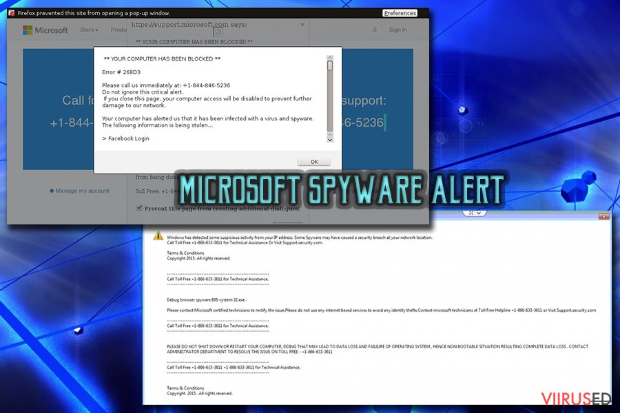 Microsofti nuhkvara teade