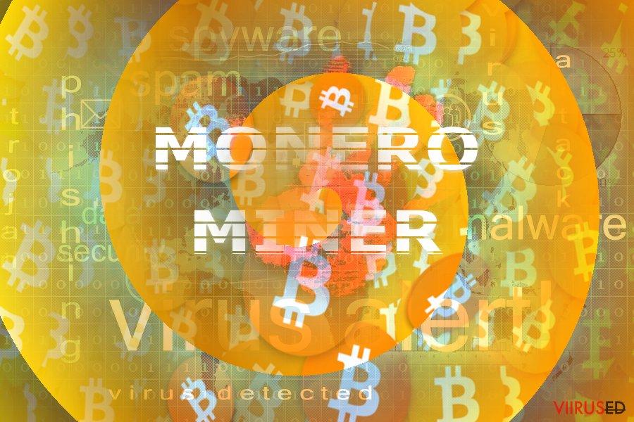 Pilt illustreerib Monero Mineri kontseptsiooni