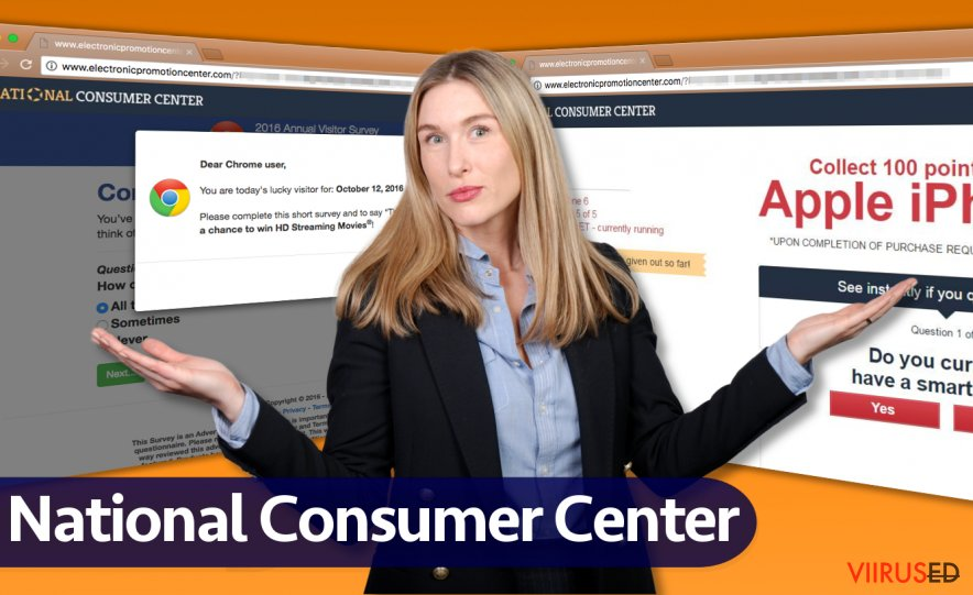 National Consumer Center viirus
