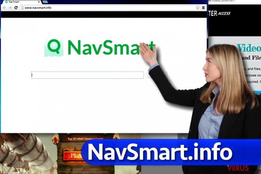 NavSmart.info viirus hetktõmmis