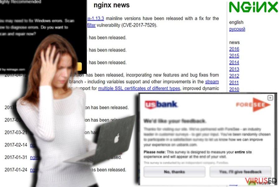 Näide partnerluses olevast veebilehest -- nginx.org