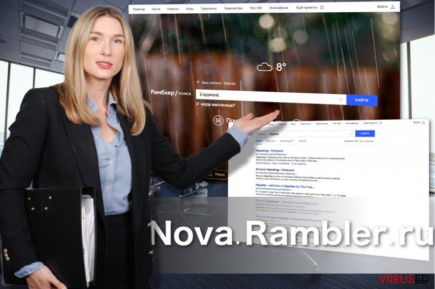 Nova Rambleri välimus