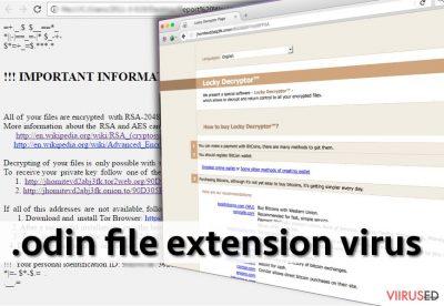 .odin file extension virus