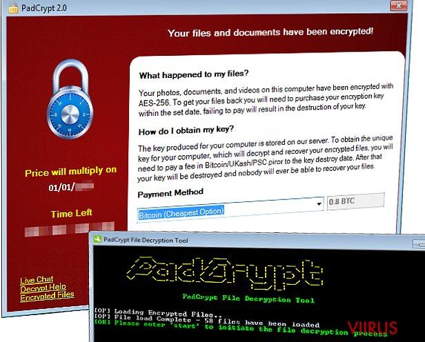 PadCrypt lunavara