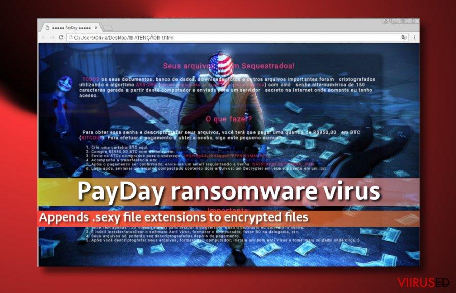PayDay lunavaraviiruse pilt