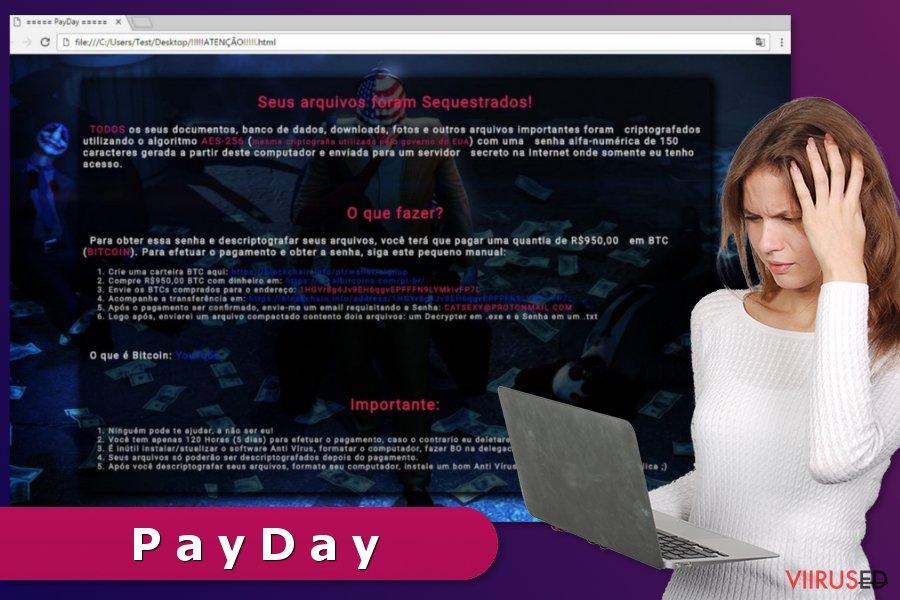 PayDay lunavaraviiruse illustratsioon