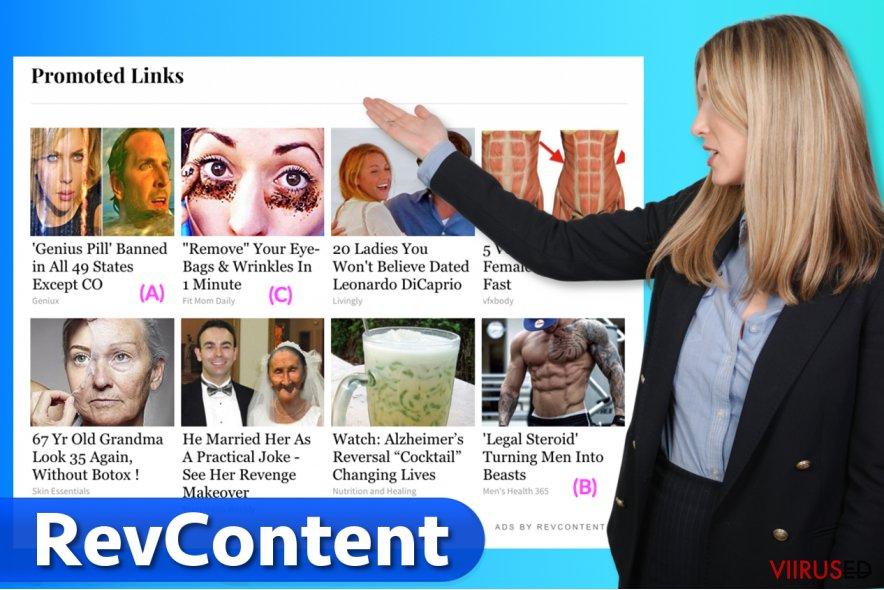 RevContent reklaamid