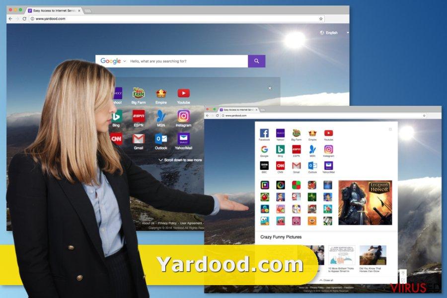 Yardood.com viirus