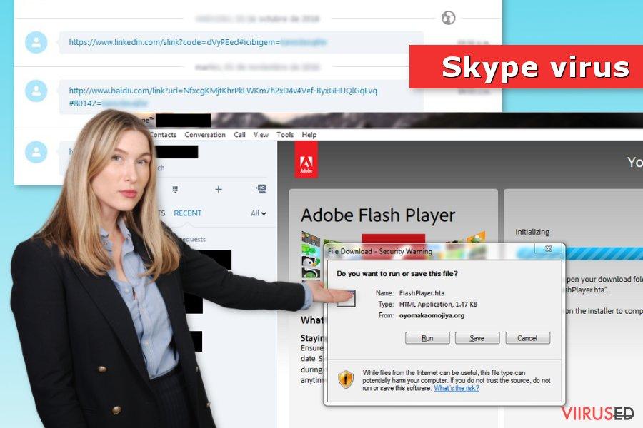 Skype viirus