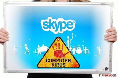 Skype viiruse pilt