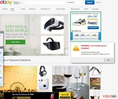 TAP Provider V9 for Private Tunnel reklaamide näide